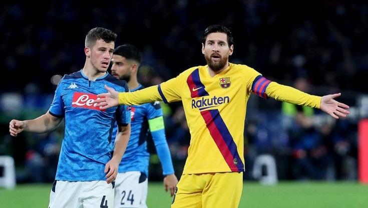 Барселона забила гол на виїзді у першій грі / фото uefa.com