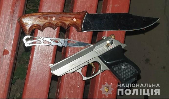 Зброю у чоловіка вилучили / Фото: Нацполіція