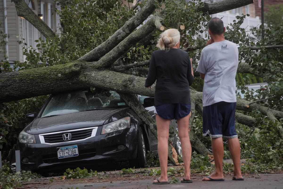Наслідки шторму в США / REUTERS