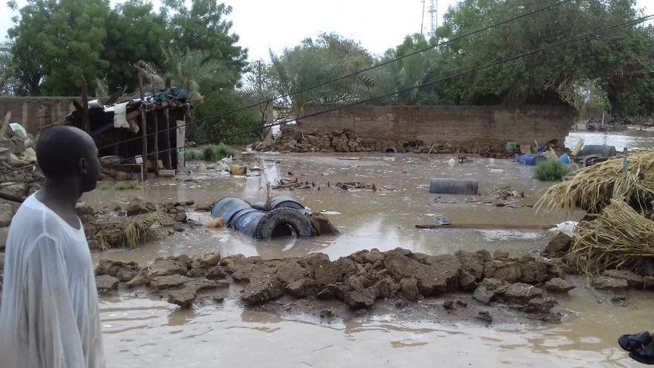 Судан постраждав від повеней / twitter.com/UNOCHA_Sudan