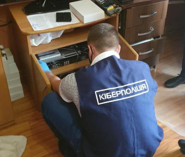 "Киберполиция разоблачила распространителей ""пиратского"" контента / фото cyberpolice.gov.ua"