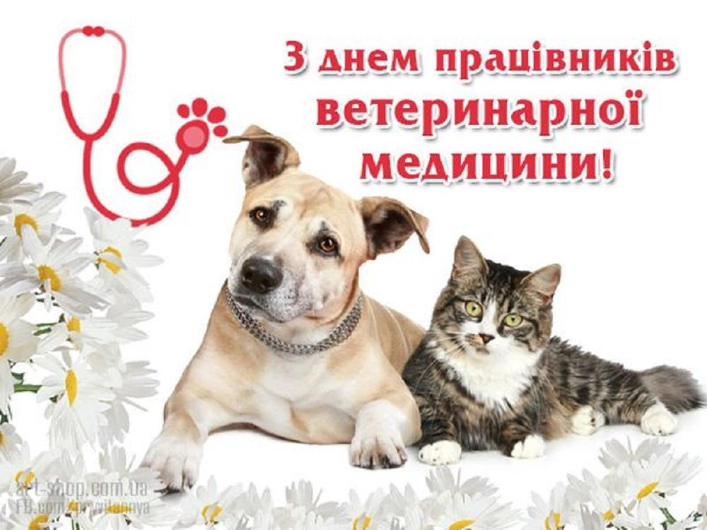 День працівників ветеринарної медицини 2020 - привітання / art-shop.com.ua