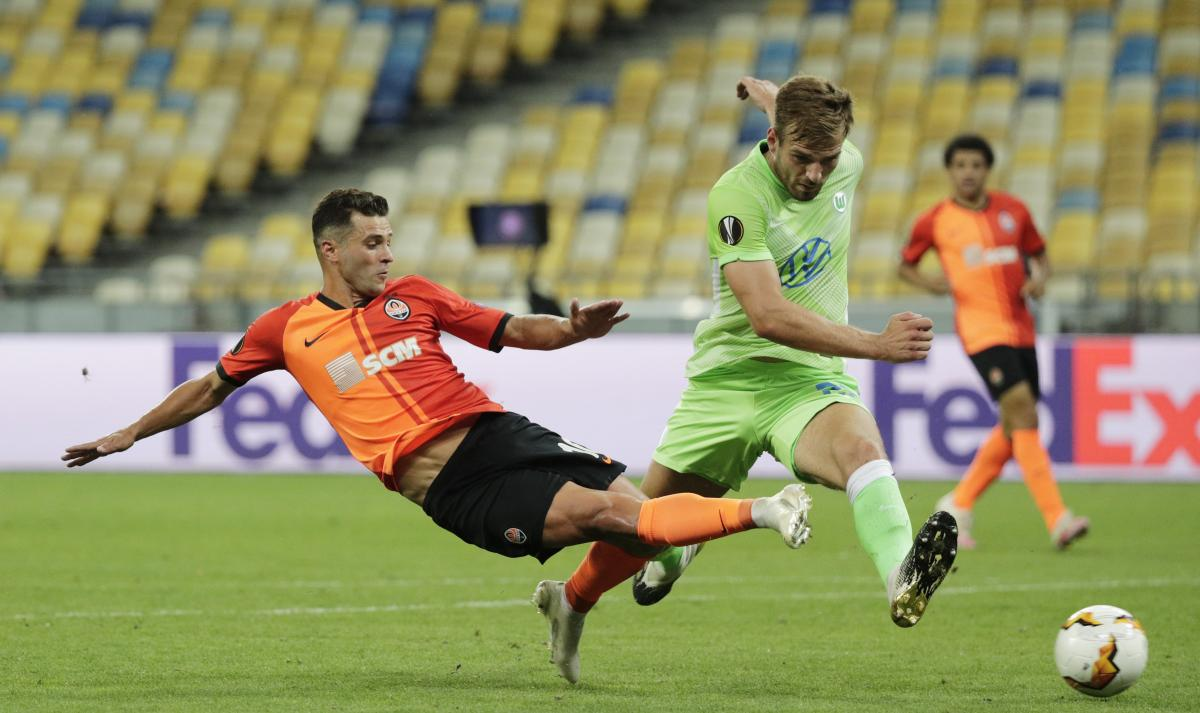 Мораес дважды забил Вольфсбургу в Киеве / фото REUTERS