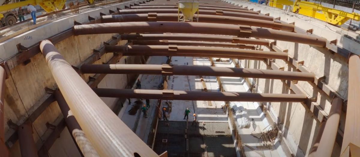 """Скоро должны начать работы над тоннелем между станциями """"Мостицкая"""" и """"Сырец"""" / фото youtube.com"""