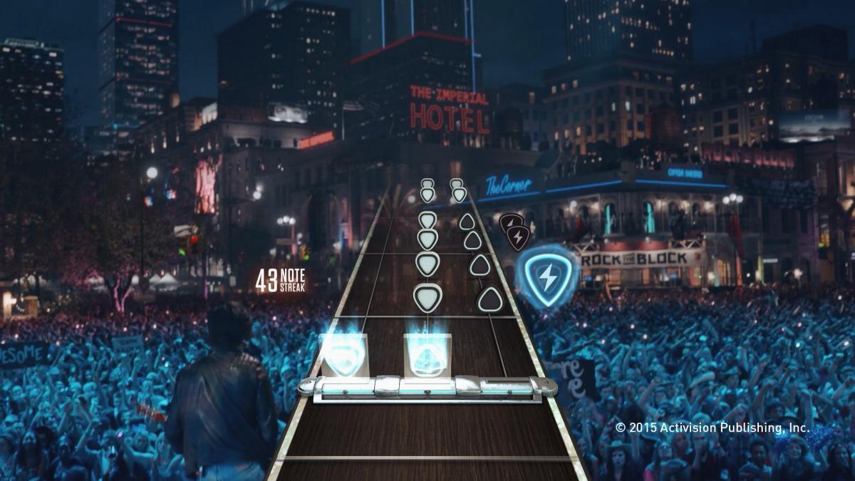 Guitar Hero превращала любого геймера в виртуозного гитариста / фото Activision