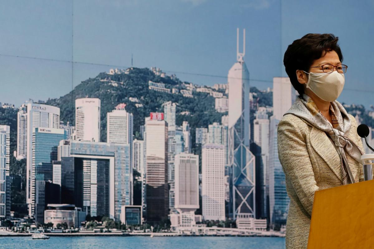 Carrie Lam / REUTERS
