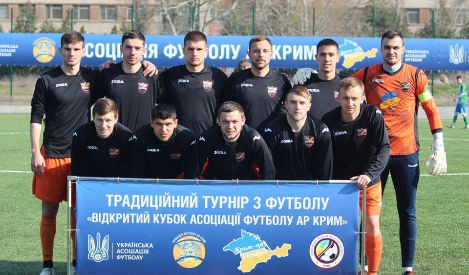 Футболісти Енергії / фото facebook.com/ ФК Енергія
