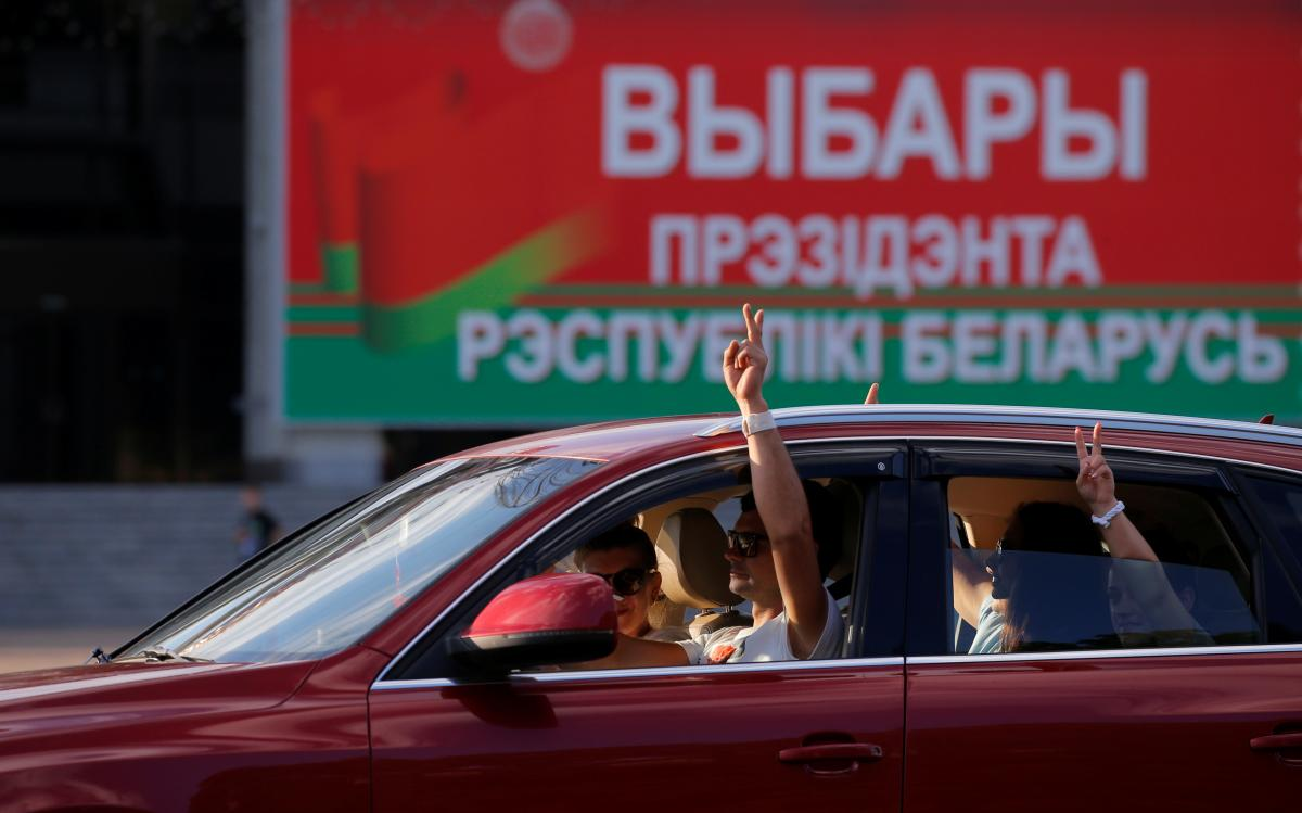 Україна не поспішає офіційно коментувати підсумки виборів у Білорусі / фото REUTERS