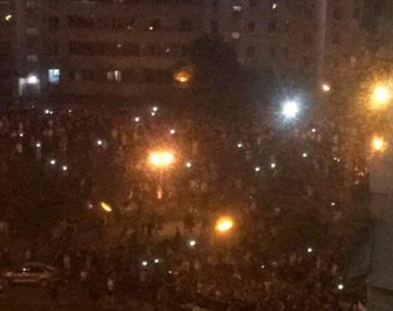 Barricades in Minsk / Photo from BelaMova
