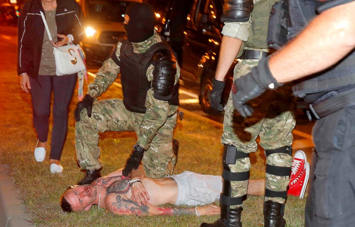 Протести у Мінську