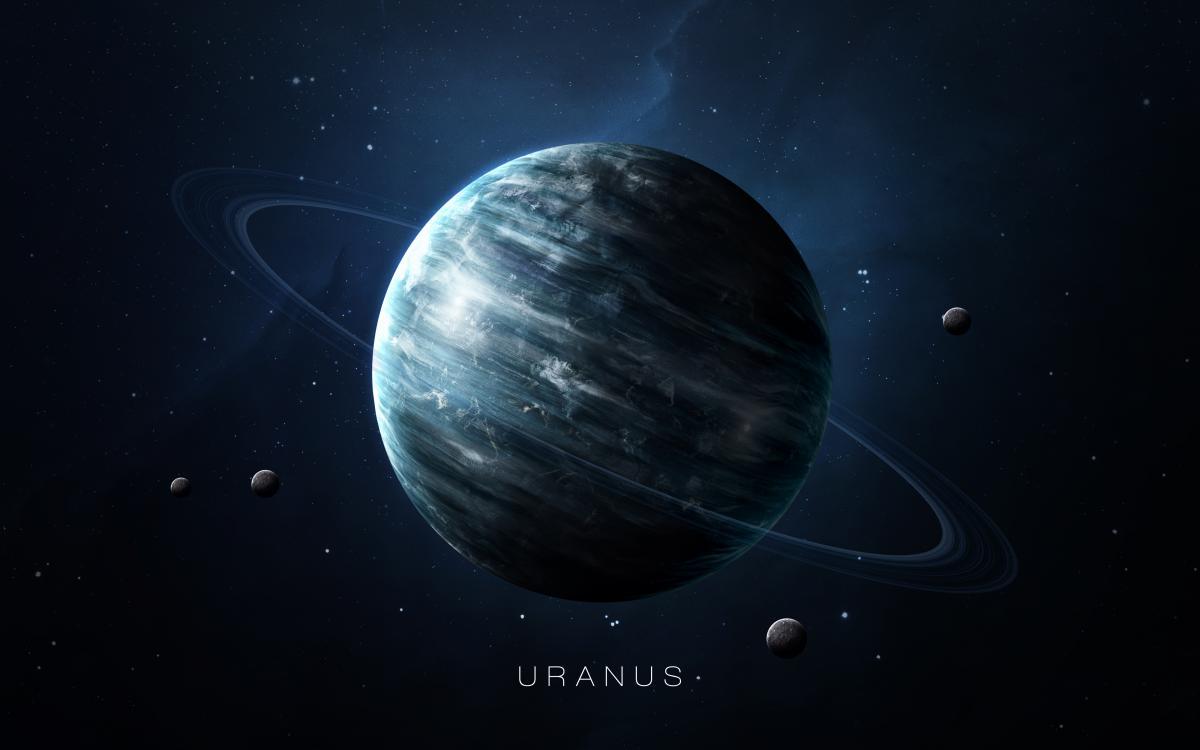 Уран - планета перемен и оригинальности / фото ua.depositphotos.com