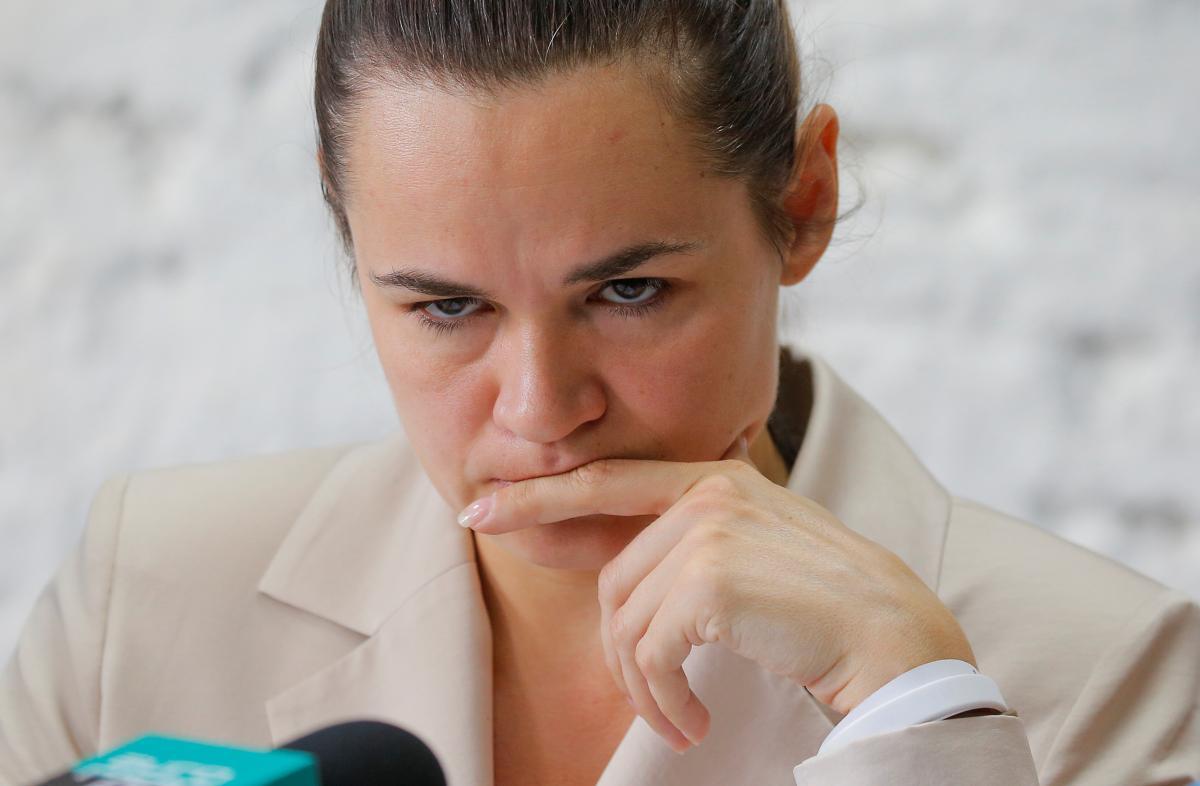 Светлана Тихановская призвала прекратить протесты / фото REUTERS