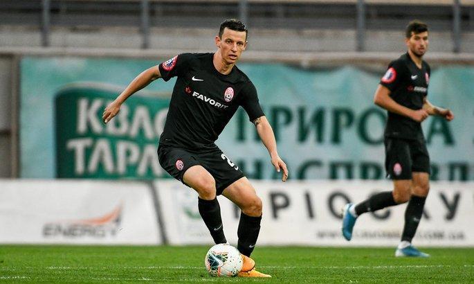 Иванисеня является ведущим игроком Зари / фото ФК Заря