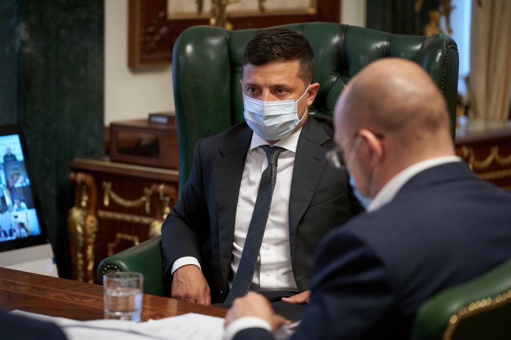 Зеленський обговорив з урядовцями нову хвилю епідемії / president.gov.ua