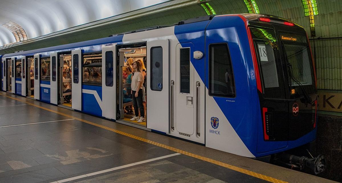 В центре Минска перекрівают метро / фото Википедия