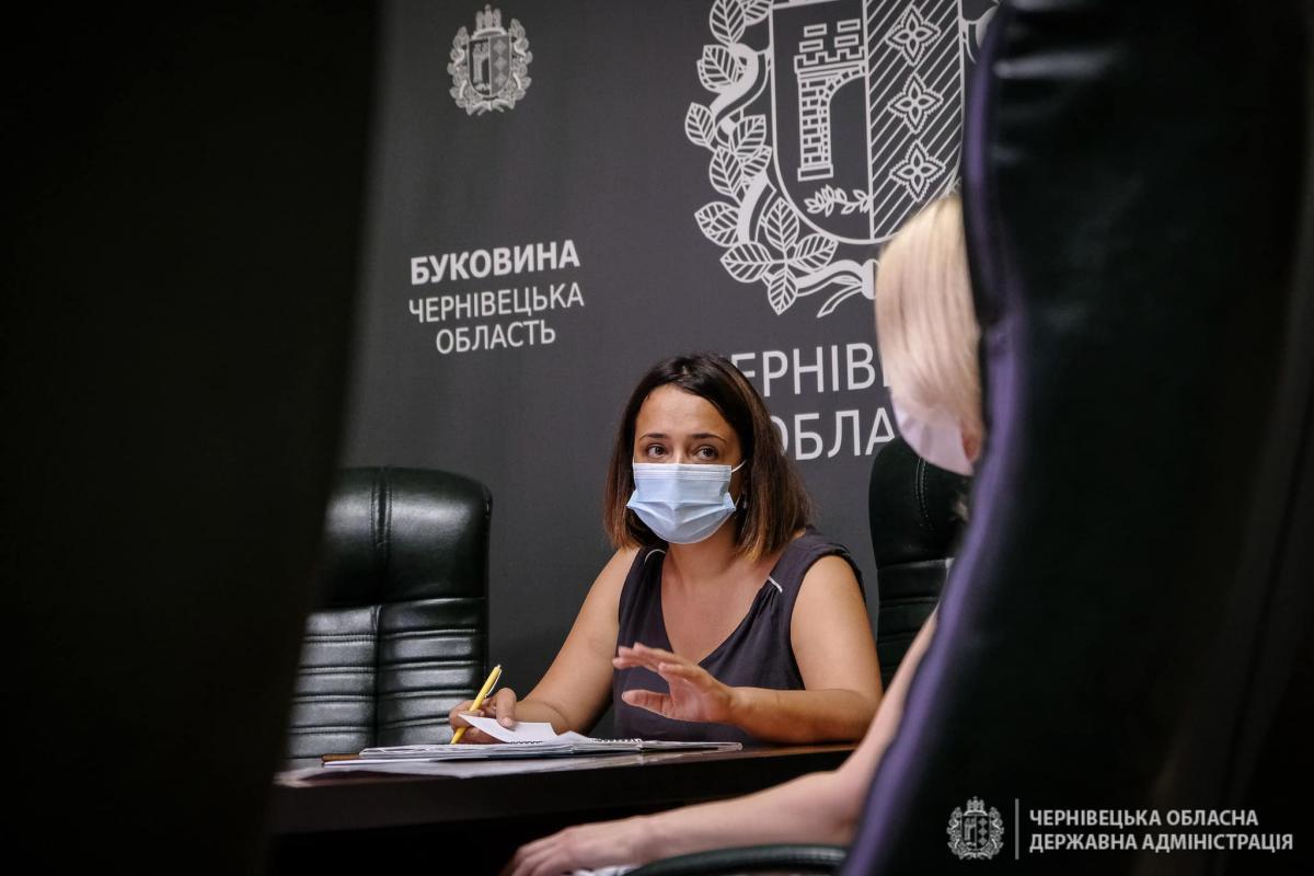 Заместитель председателя ОГА Наталья Гусак / Фото facebook.com/cvODA/
