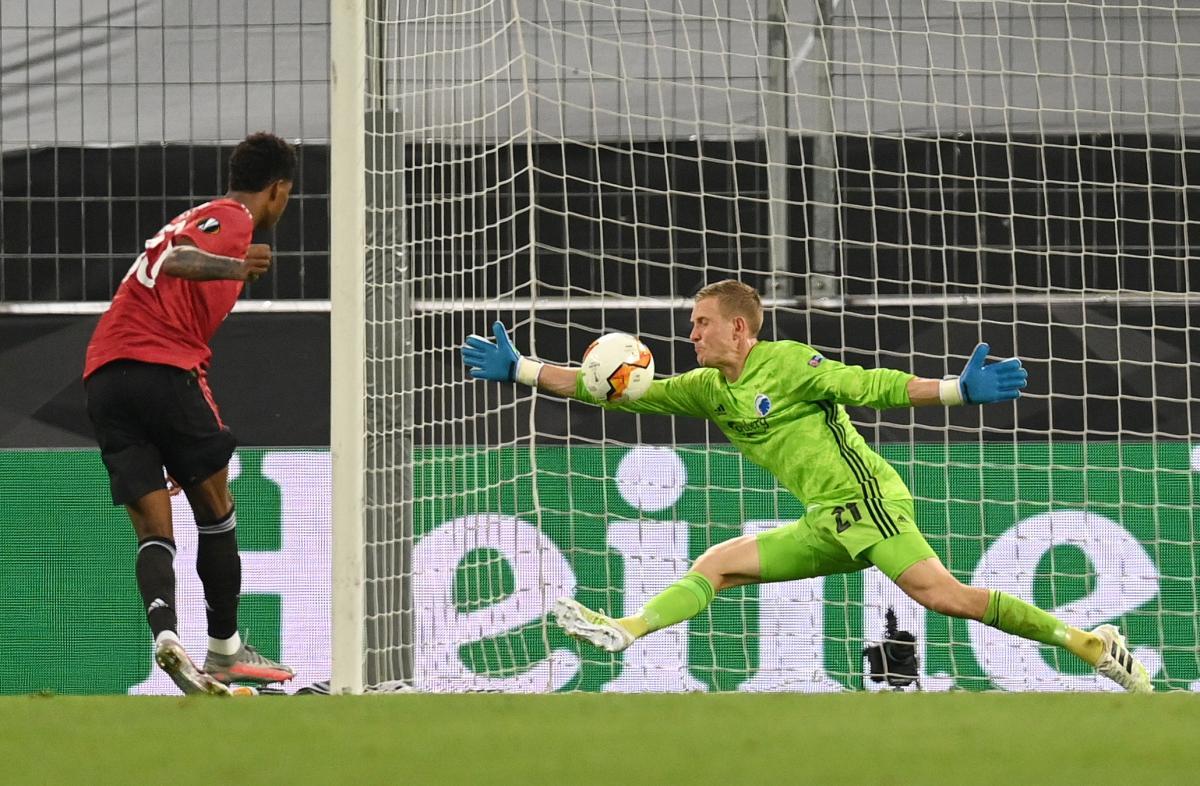 «Манчестер Юнайтед» обыграл «Копенгаген» вматче ¼ финала Лиги Европы