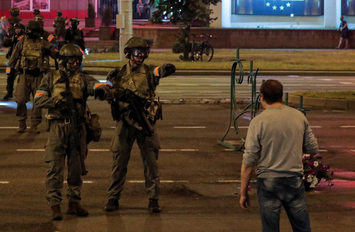 Протесты в Беларуси / REUTERS
