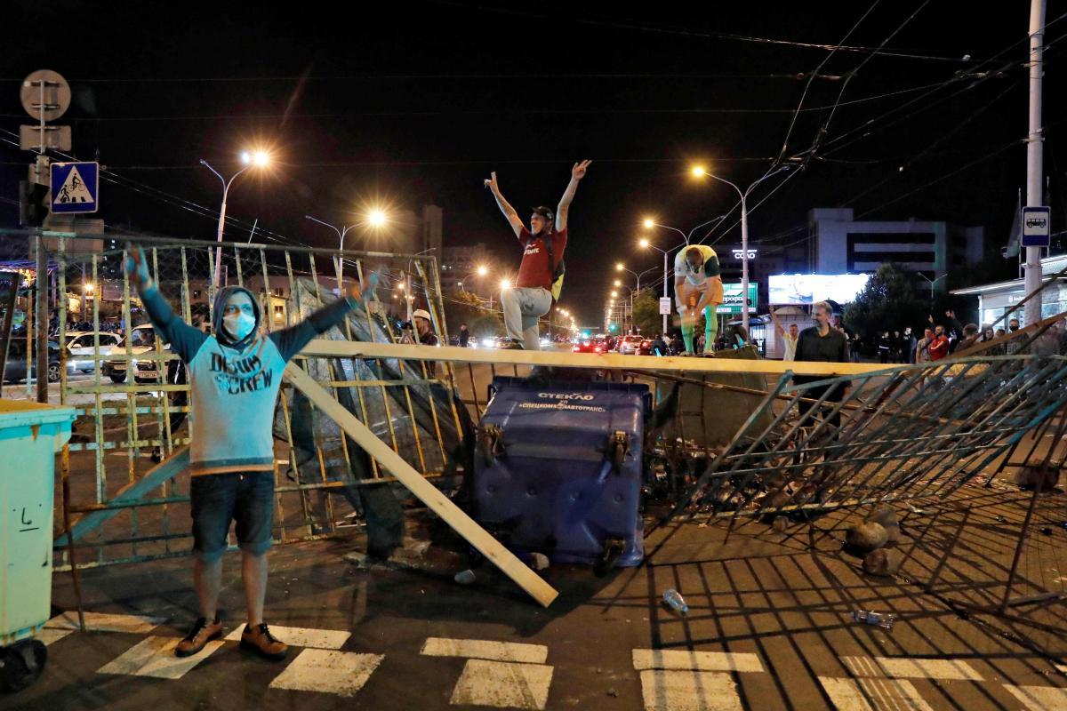 У Білорусі продовжуються протести проти Лукашенка / REUTERS