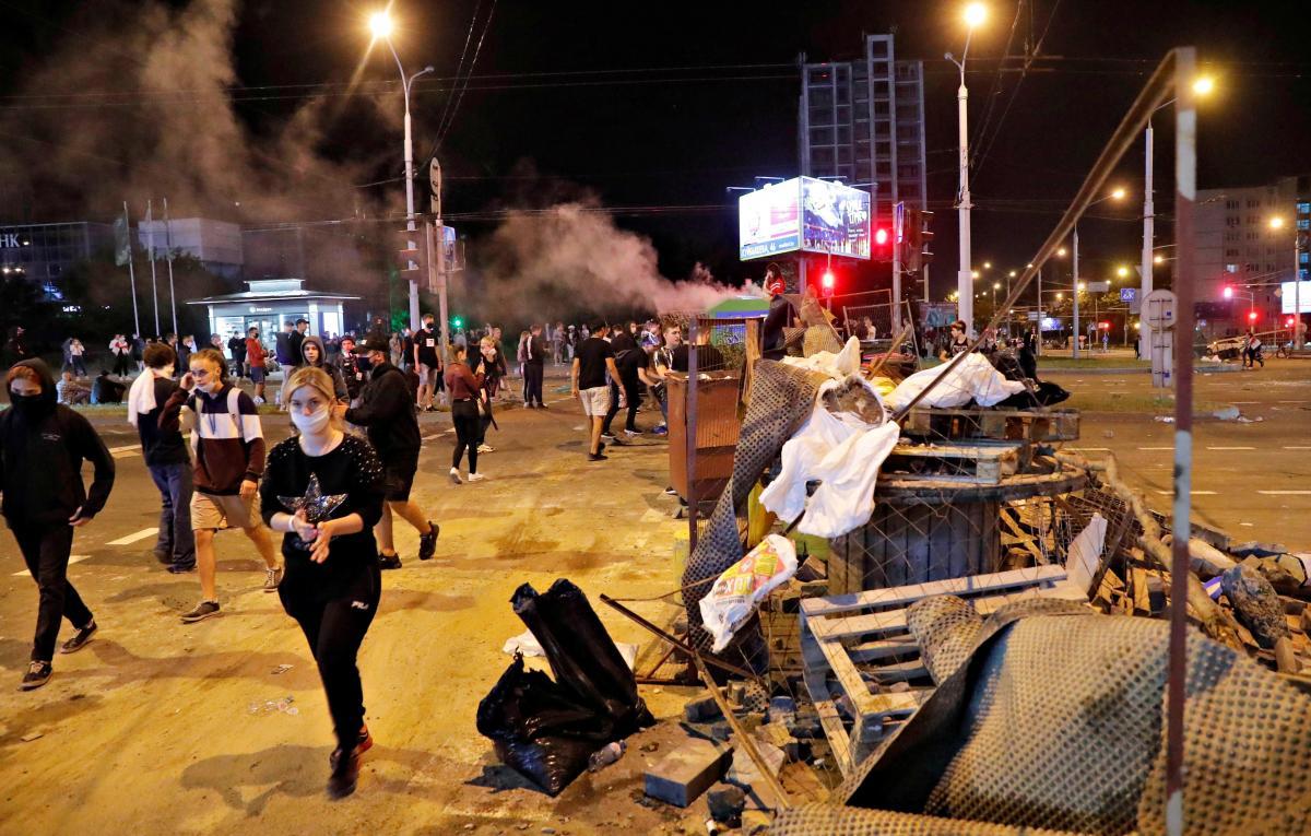 У Білорусі продовжуються протести / REUTERS
