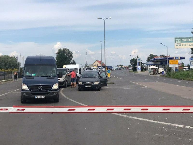 Венгрия усилила проверки на границе из COVID-19 / фото Чопского пограничного отряда