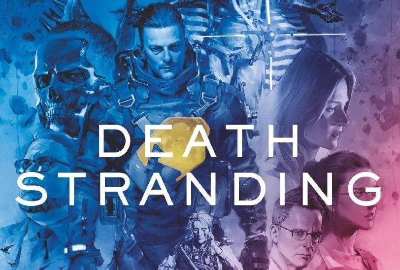 Обложка графического романа Death Stranding на Amazon / amazon.co.uk