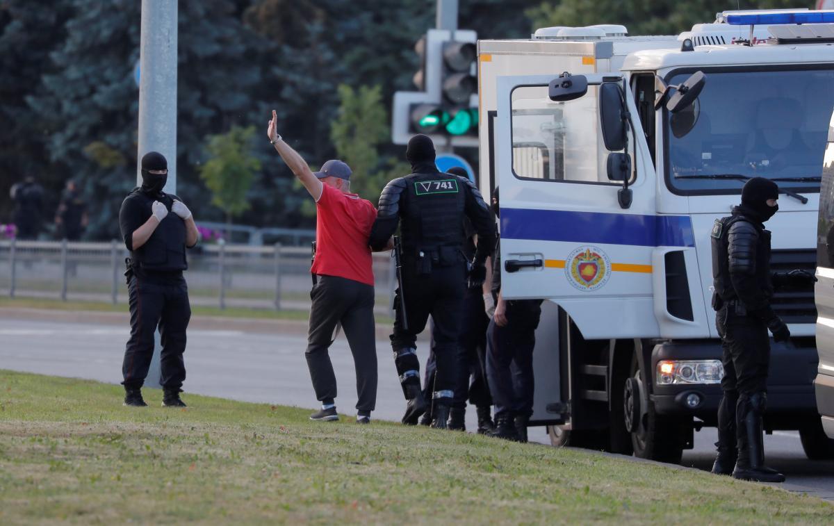 Протести в Білорусі / REUTERS