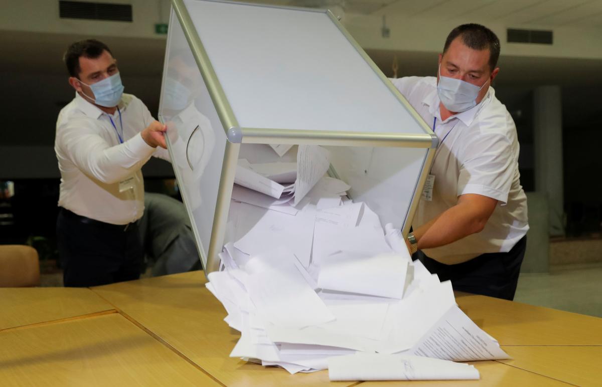 Выборы в Беларуси 9 августа / REUTERS