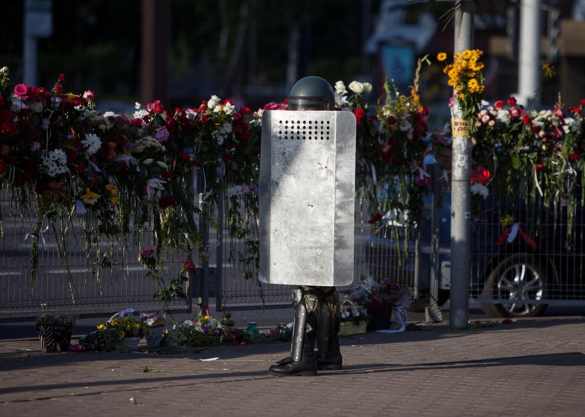 Протесты в Беларуси продолжаются / REUTERS