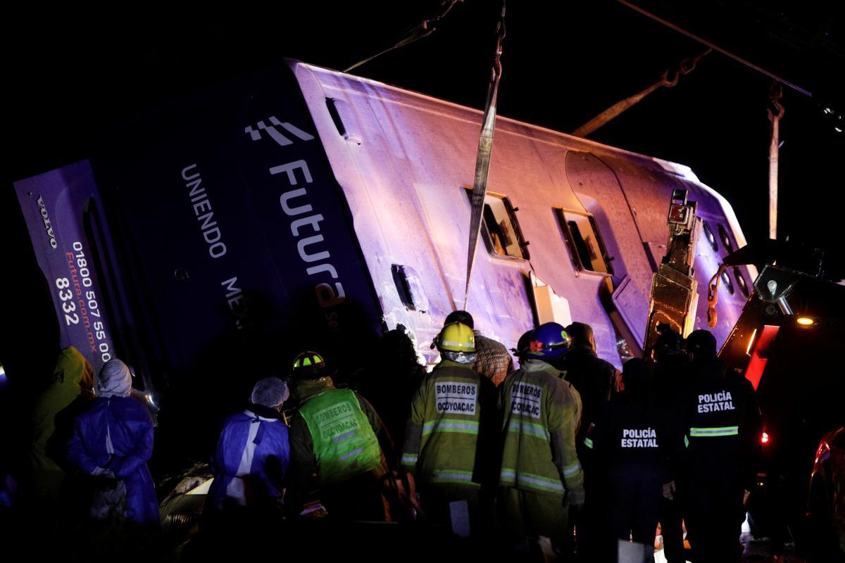 В Мексике в результате автокатастрофы погибли 13 человек / фото REUTERS
