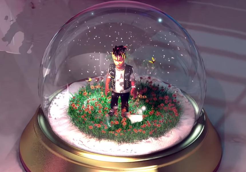 Клип сделан в анимационном стиле \ скриншот с видео