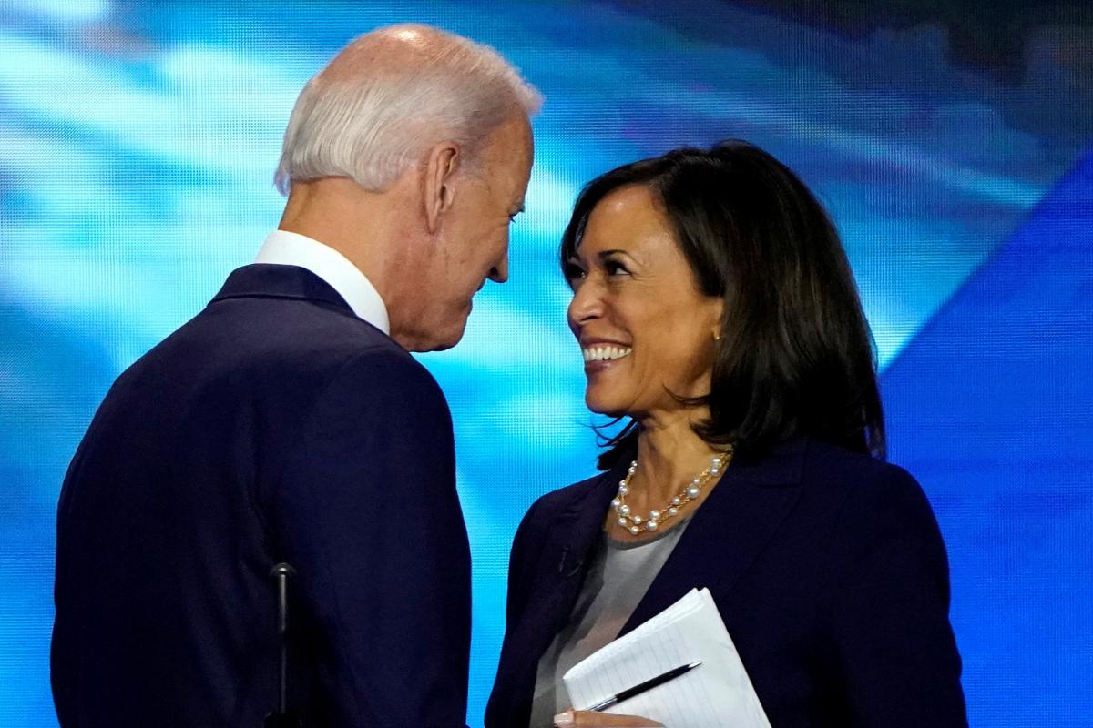 Джо Байден та Камалія Гарріс / фото REUTERS