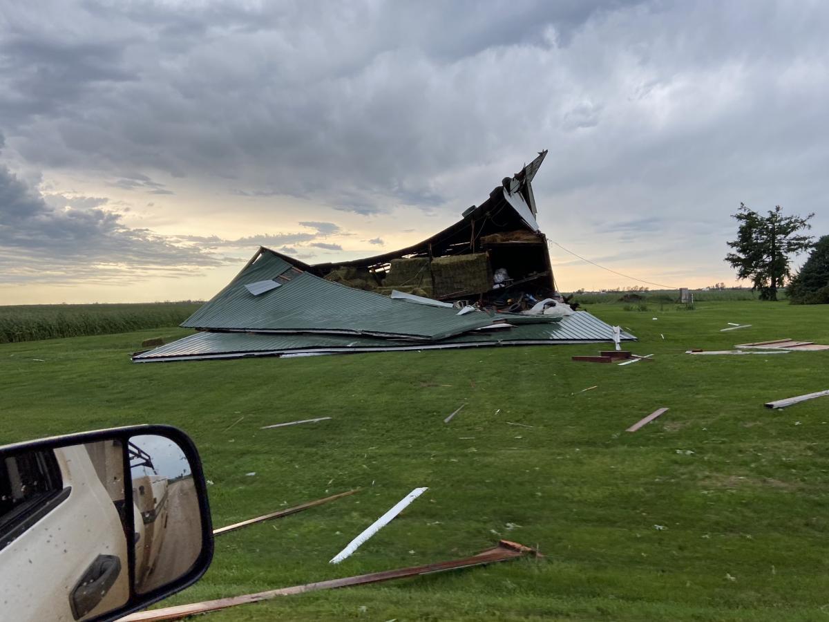 На Середньому Заході США пронісся шторм / twitter.com/ksw442