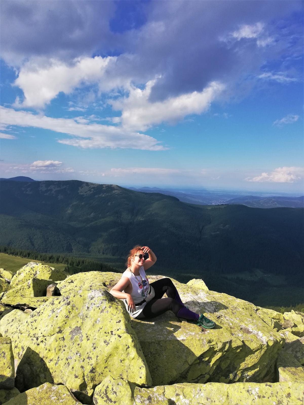Якщо не зробив фото на вершині Хом'яка - значить, не був на вершині Хом'яка / фото Марина Григоренко