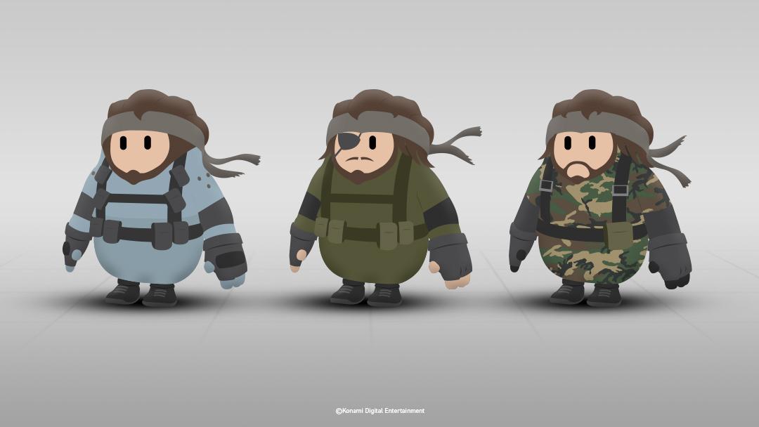 Скины в стиле Metal Gear / twitter.com/KonamiUK