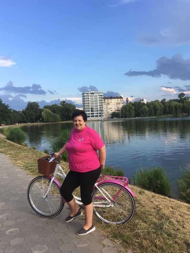 Анна Карась на карантине приобрела велосипед / из личного архива героини