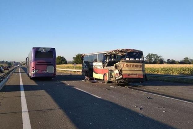 Авария произошла на трассе Одесса - Киев / фото dostyp.com.ua
