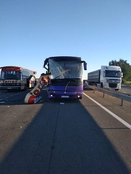Водителя одного из автобусов задержали / dostyp.com.ua