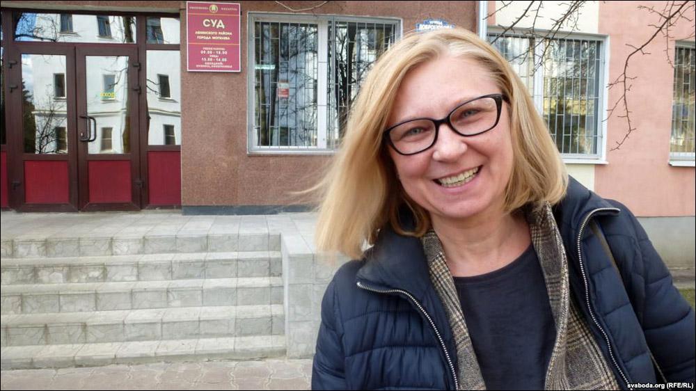 Обыск у ТатьяныРевяко длился полчаса /Фото svaboda.org