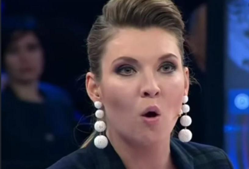 Ольга Скабеєва є однією з головних пропагандисток Кремля / скріншот з відео