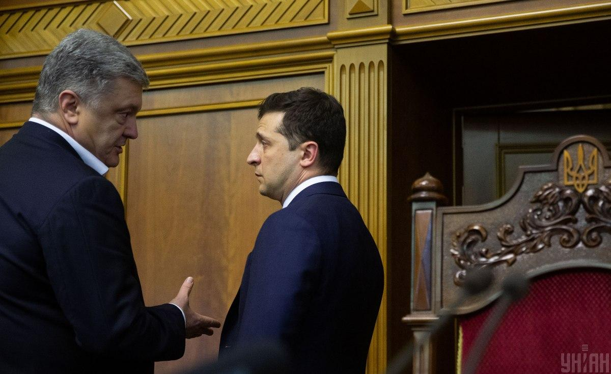 Зеленский и Порошенко поспорили, кто из них больше украл из бюджета / фото УНИАН