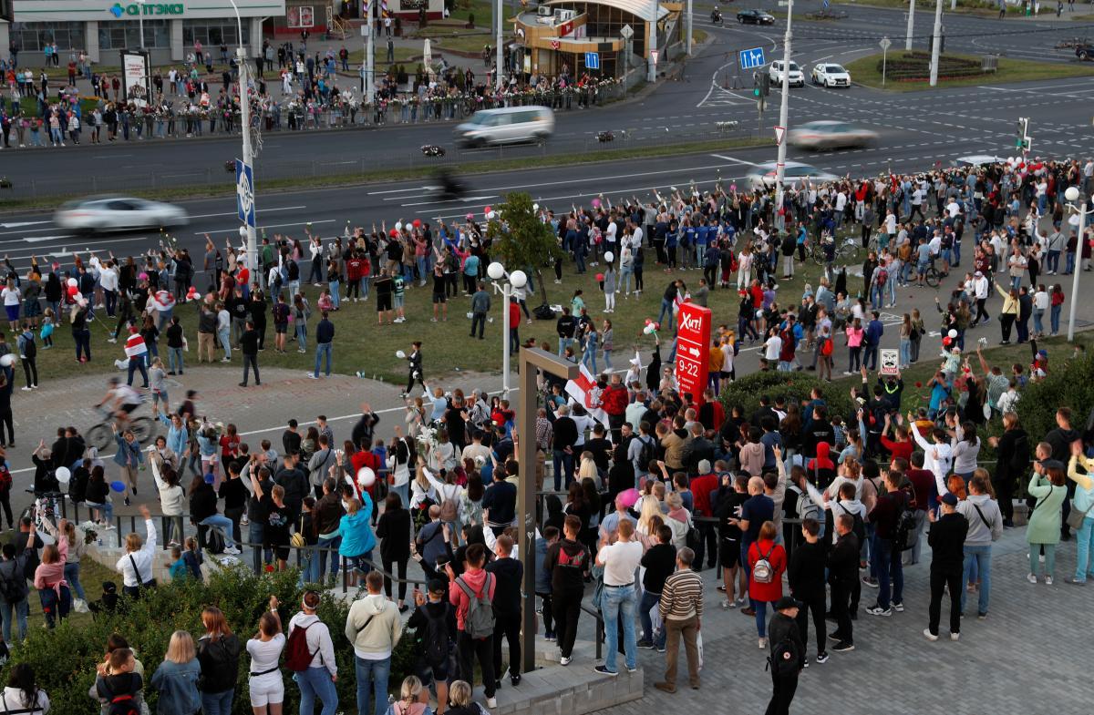 У Білорусі затримують учасників протестів / REUTERS
