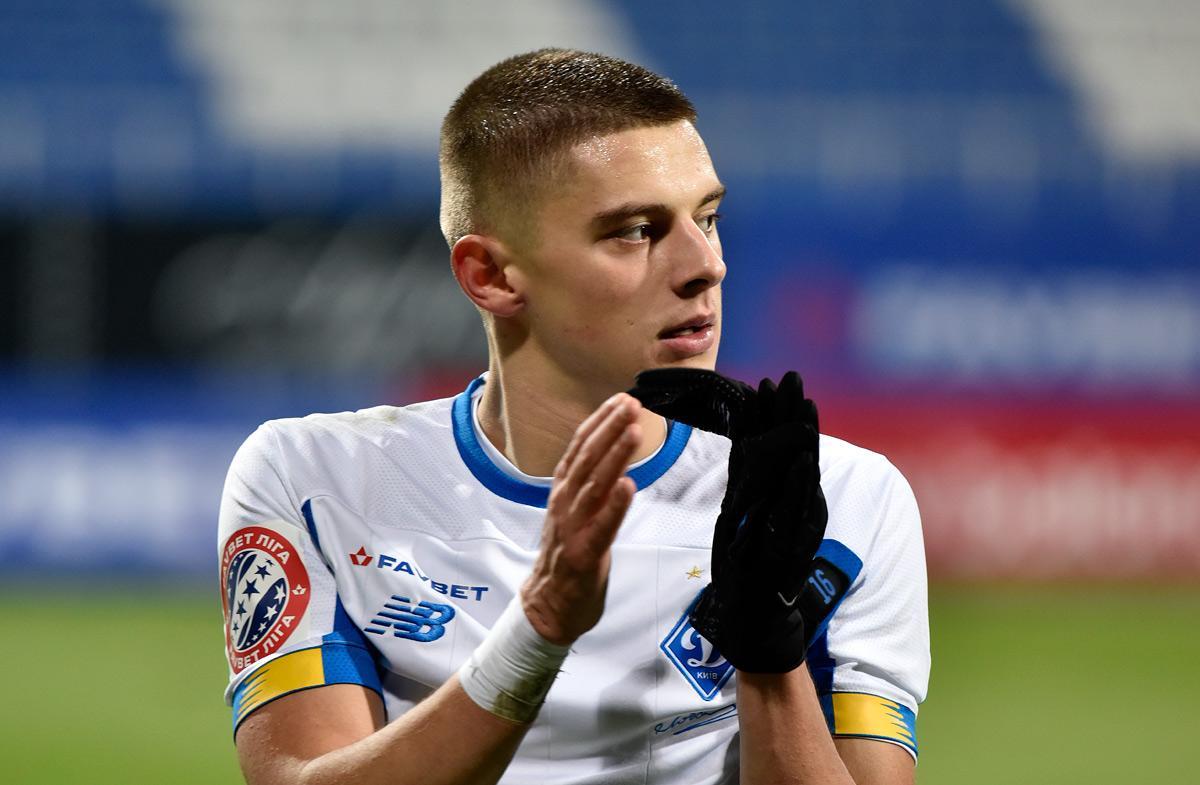 Миколенко у 21 рік став лідером Динамо / фото dynamo.kiev.ua