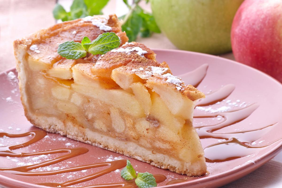 Пиріг з яблуками і медом - рецепт / фото ua.depositphotos.com