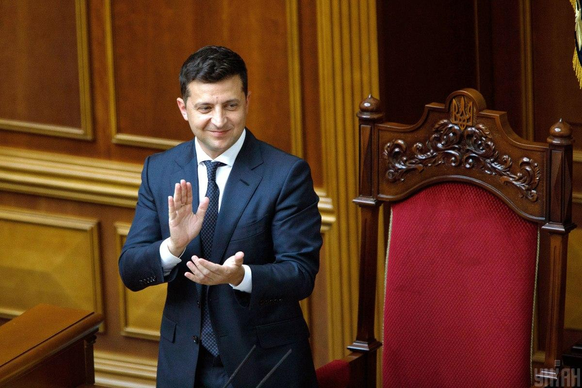 Zelensky asks lawmakers to consider his bill / Photo from UNIAN
