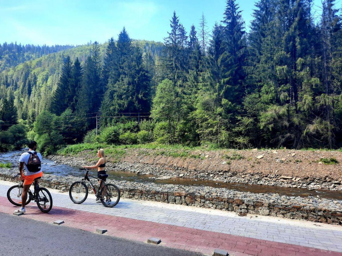 Скоро в поселке откроется новая велодорожка, ее длина составит 6,8 км / фото Ольга Броскова