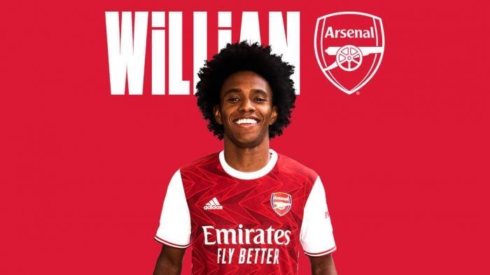 Вілліан змінив клуб, але залишився в Лондоні / фото twitter.com/Arsenal