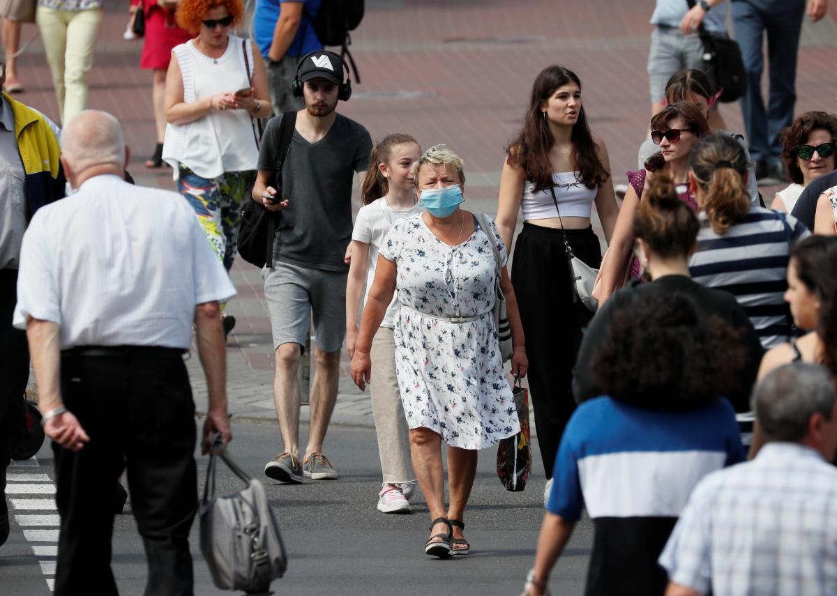 Kyiv will toughen quarantine curbs from August 17 / REUTERS