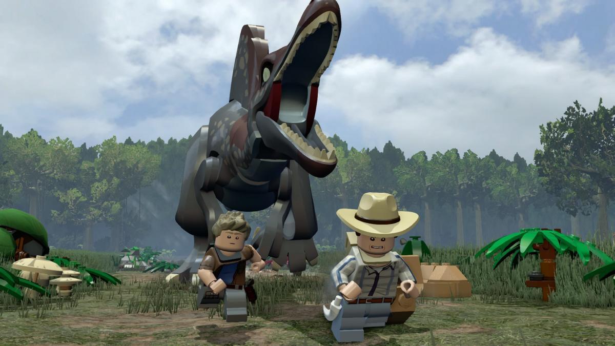 "Игра LEGO Jurassic World основана на фильме ""Мир Юрского периода"" / store.steampowered.com"