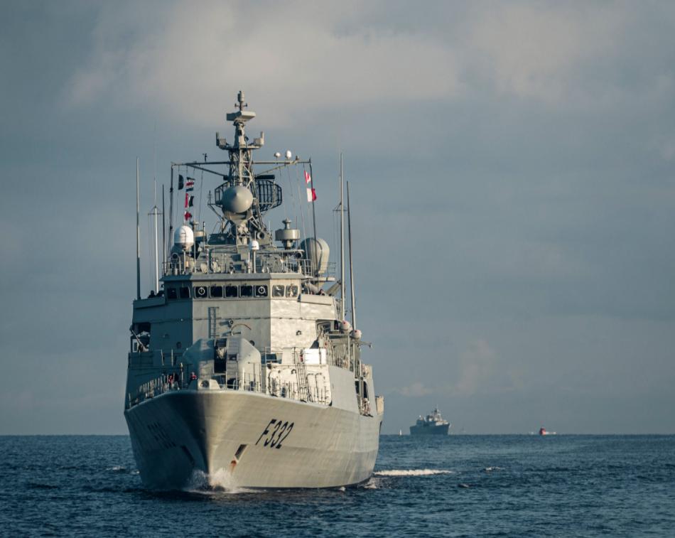 Кораблі базуватимуться у порту Риги \ @Latvijas_armija